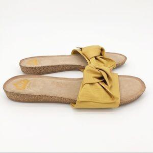 Fergalicious Shoes - Fergalicious Sandal Moshi Bow Fabric Slide Slip On